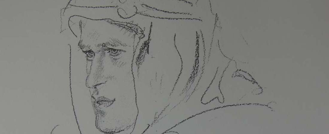 Life of Lawrence of Arabia sketch
