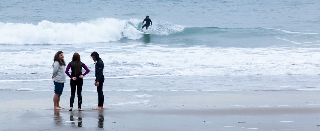 Things to do in north wales; surfing on the Llyn