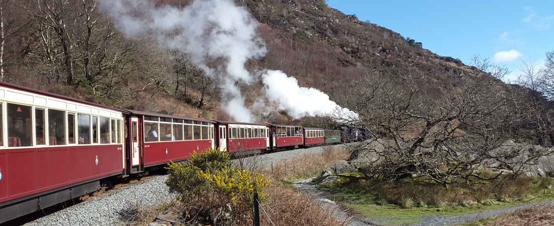 Things to do in north wales; Welsh Highland Railway