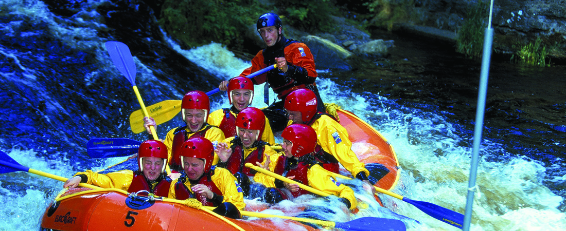 Snowdonia Outdoor Activities, White water rafting on the River Tryweryn
