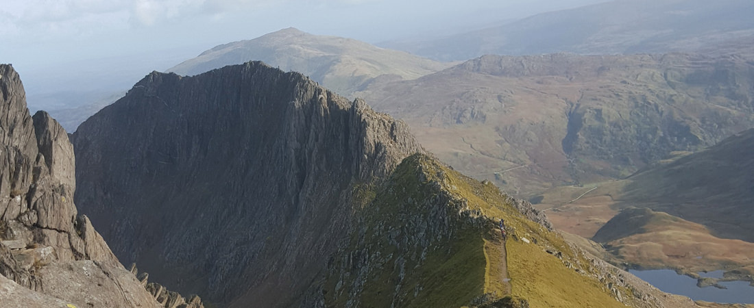 Snowdonia Outdoor Activities, Crib Goch on Snowdon