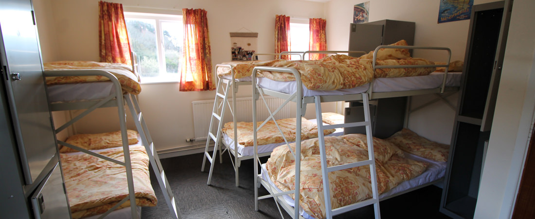 group accommodation in snowdonia, bunkrooms